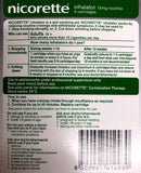 Nicorette inhalator 15mg 4 catridges 1 mouthpiece