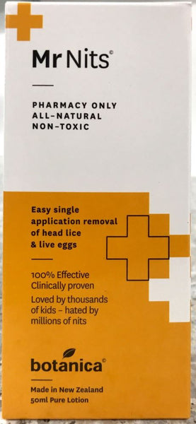 Mr Nits Headlice Nit Treatment 50 ml - Pakuranga Pharmacy