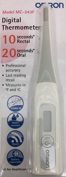 OMRON Digital Thermometer MC-343F Fast & Accurate