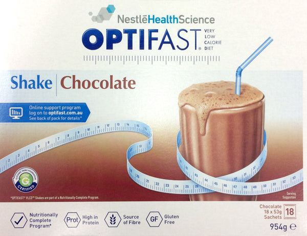 Optifast VLCD Chocolate Shake 53g 18 Sachets