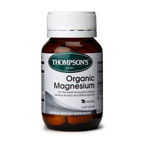 Thompsons Organic Magnesium 30 Tablets