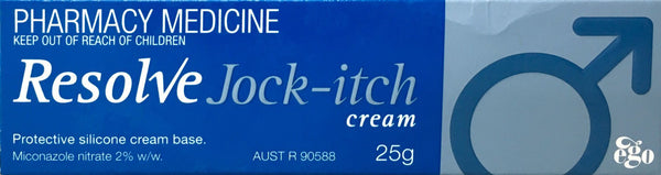 Resolve Jock-itch cream 25g  *Pharmacy Medicine*