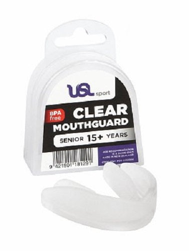 USL Sport Clear Mouthgaurd Senior 15+ Years