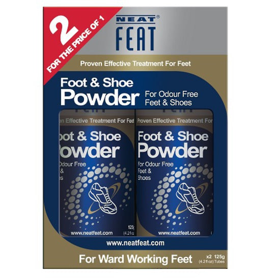 NEAT FEAT SHOE POWDER TWIN-PACK - Pakuranga Pharmacy
