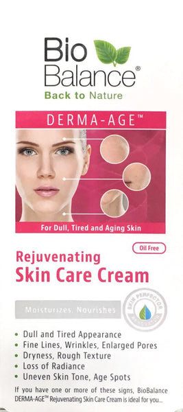 BioBalance Derma-Age Rejuvenating Skin Care Cream 55ml - Pakuranga Pharmacy