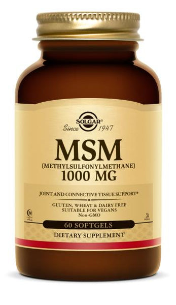 Solgar MSM 1000 mg 120 Tablets