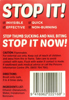 Stop It Now 7ml - Stop Thumb Sucking & Nail Biting
