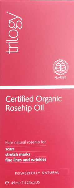 Trilogy Certified Organic Rosehip Oil 45ml