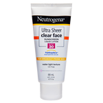 Neutrogena Ultra Sheer clear face SPF30 88mL