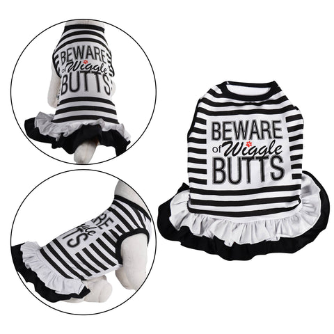 Beware Of Wiggle Dog Dress