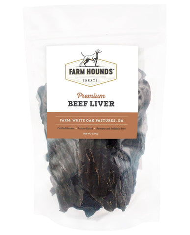 Farm Hounds Pasture Raised Beef Liver
