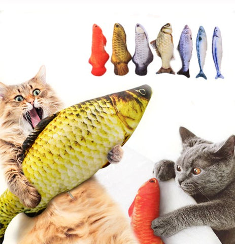3D Fish Plush Toy