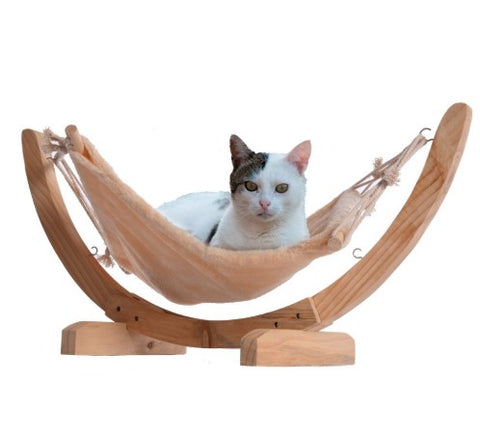 Wooden Hammock Bed for Cats