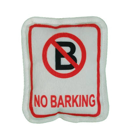 No Bark Plush Toy