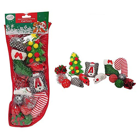 Midlee Designs Cat Christmas Stocking