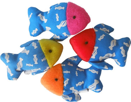 Imperial Cat Catnip Fish - Set of 3