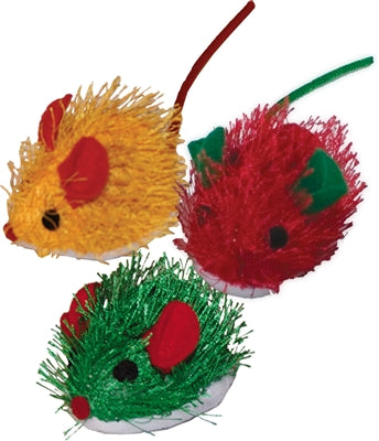 Imperial Cat's Catnip Mouse Toy - Set of 3