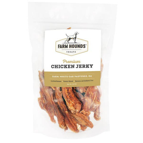 Farm Hounds Pasture Raised Chicken Jerky