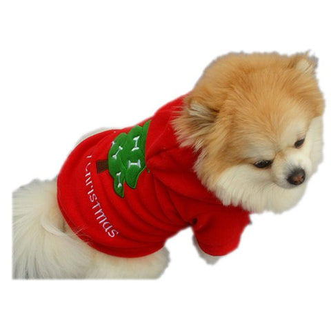 Warm Christmas Santa Claus Costume Apparel