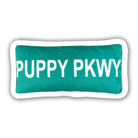 "Bark Appeal ""Puppy Pkwy"" Plush Toy"