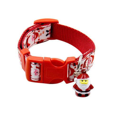 Christmas Small Dog & Cat Collar Adjustable Length