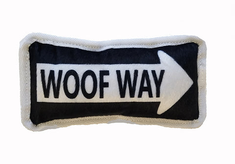 "Bark Appeal Plush Toy ""Woof Way"""
