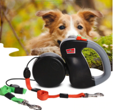 Dual Retractable Dog Leash