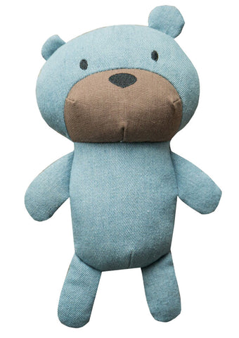 Blue Bear Squeaky Pet Toy