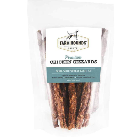 Farm Hounds Pasture Raised Chicken Gizzard Sticks