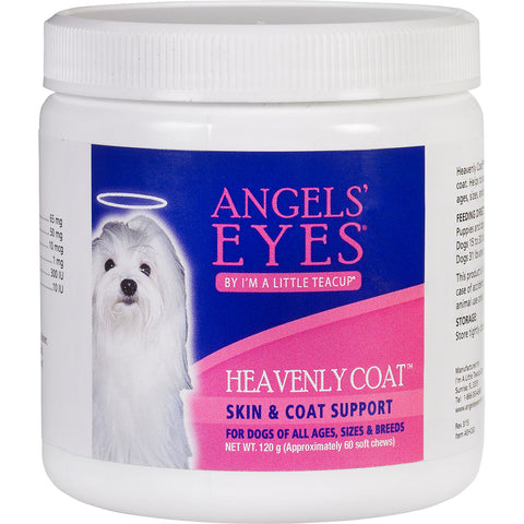Angels' Eyes Heavenly Coat Soft Chews For Dogs & Cats 60ct-