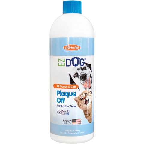 EZ Dog Pet Plaque Off 16oz-