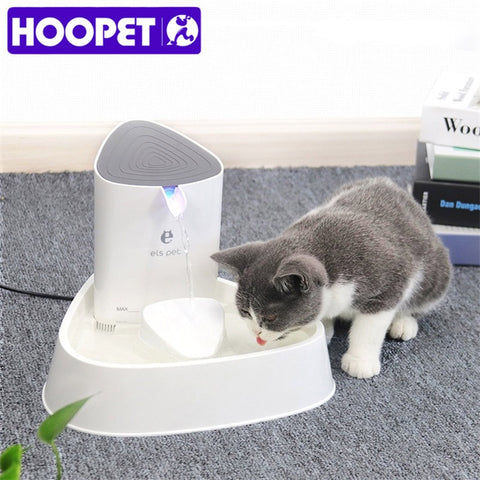 Automatic Pet Water Fountain with LED Dispenser