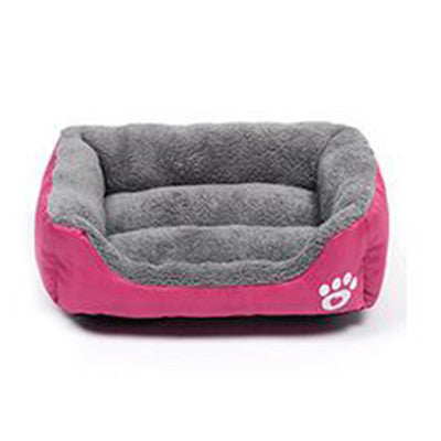 Pet Dog Bed Warming Dog House Soft Material for Fall and Winter