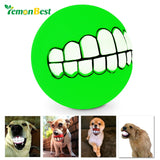 Pet Teeth Silicone Chew Ball
