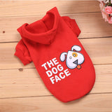 "New Dog Hoodie Shirt ""The Dog Face"""