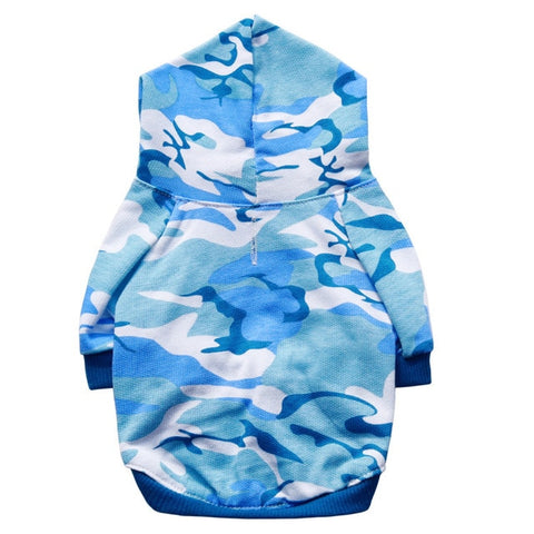 New Lightweight Camouflage Dog Hoodie