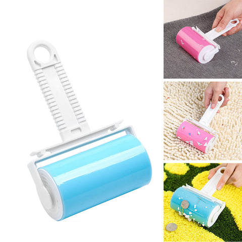 Reusable Lint Roller Sticking Dandruff Hair Dust Wool Removal Catcher for Home Pet
