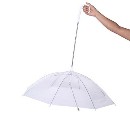 Waterproof Transparent Dog Umbrella