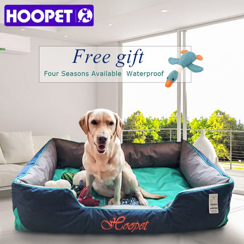 Hoopet Soft & Warm Dog Bed. Made for Large Dogs.
