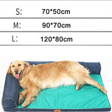 Hoopet Cute Cartoon Soft & Warm Dog Bed. Made for Large Dogs.