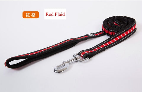 Nylon Adjustable Long Lead Dog Leash. Suitable for Medium  & Large Dogs