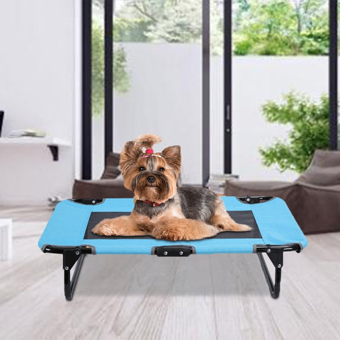 Portable Outdoor Elevated Dog Bed for Large Breed Dogs