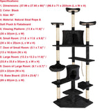 Luxury Cat Climbing Tree Tower
