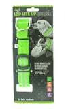 LED Dog Collar Green