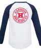 Blue / White Baseball Tee