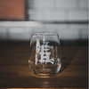Stemless Beer Glass