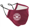 Branded face covering - Burgundy
