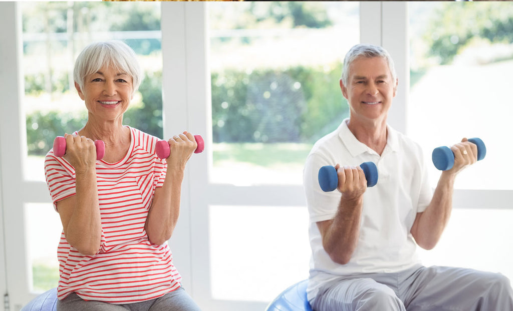 LIFT WEIGHTS AT ANY AGE – Easy strength training exercises for everyone