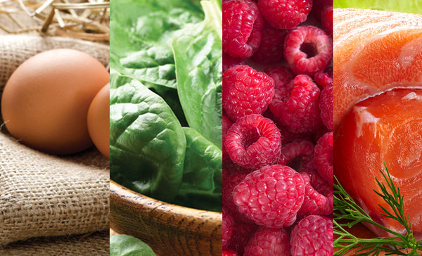 FOUR FAB FOODS FOR HEALTHY HAIR