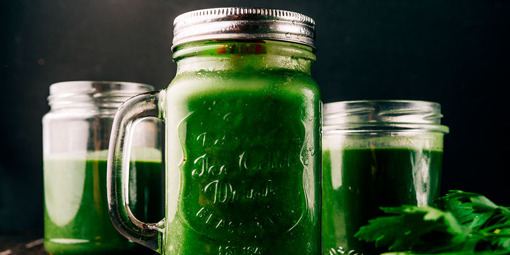 A Healthy, Refreshing Green Drink For Summer